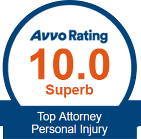 10.0 Superb Rating - Top Attorney Personal Injury