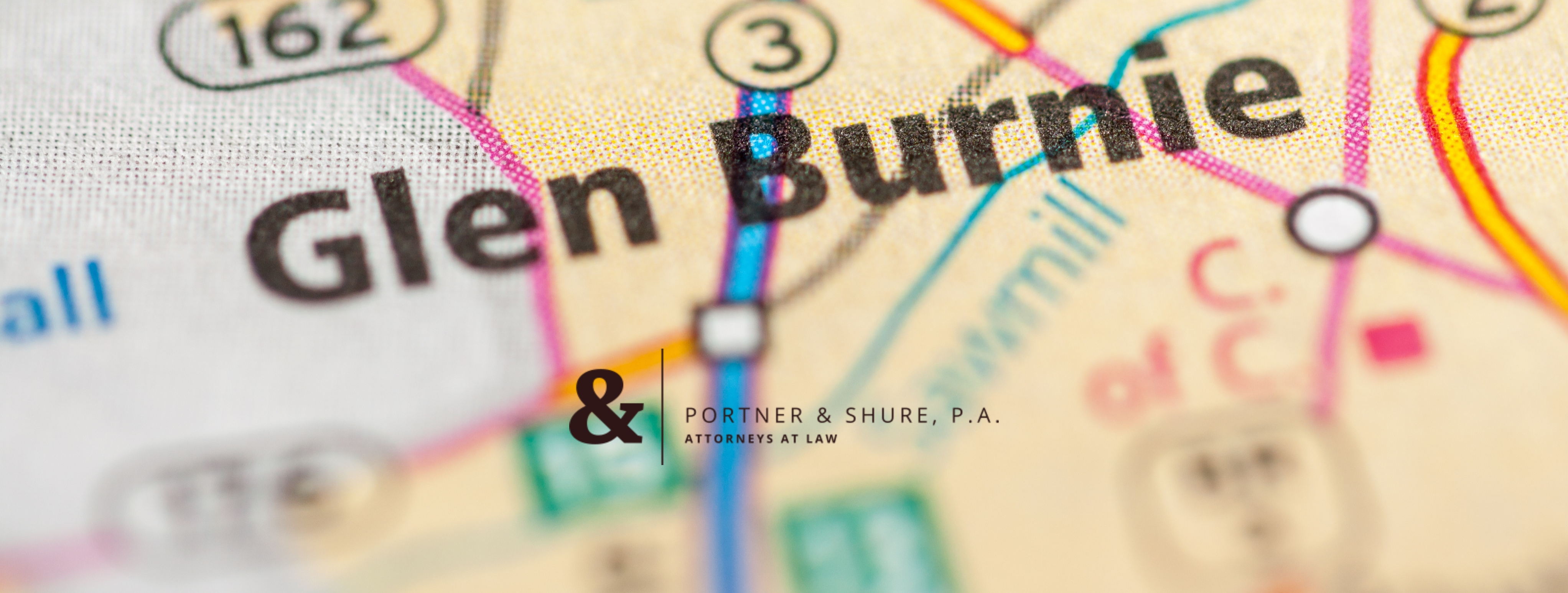 Glen Burnie Map